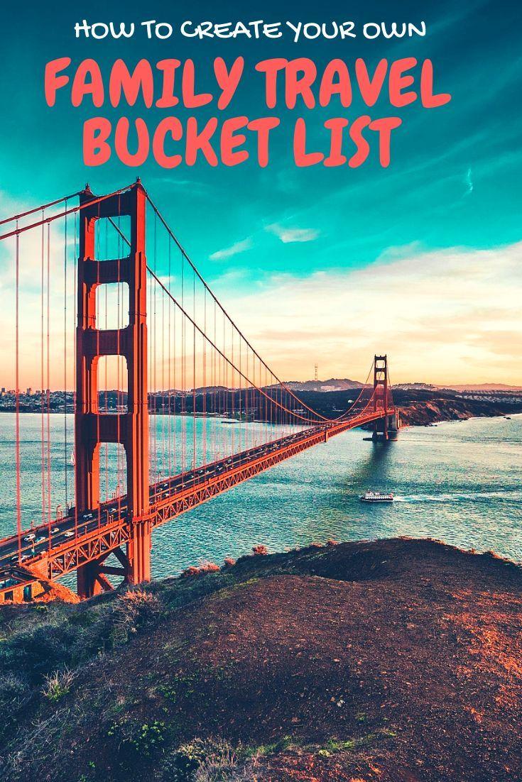 Family Travel Bucket List #familytravel #travelwithkids #bucketlist #travelideas
