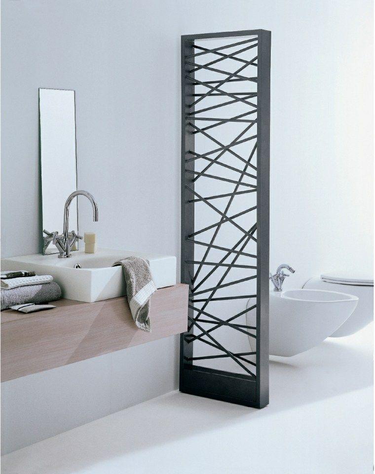 Radiateur design et sèche serviette pour la salle de bain Future