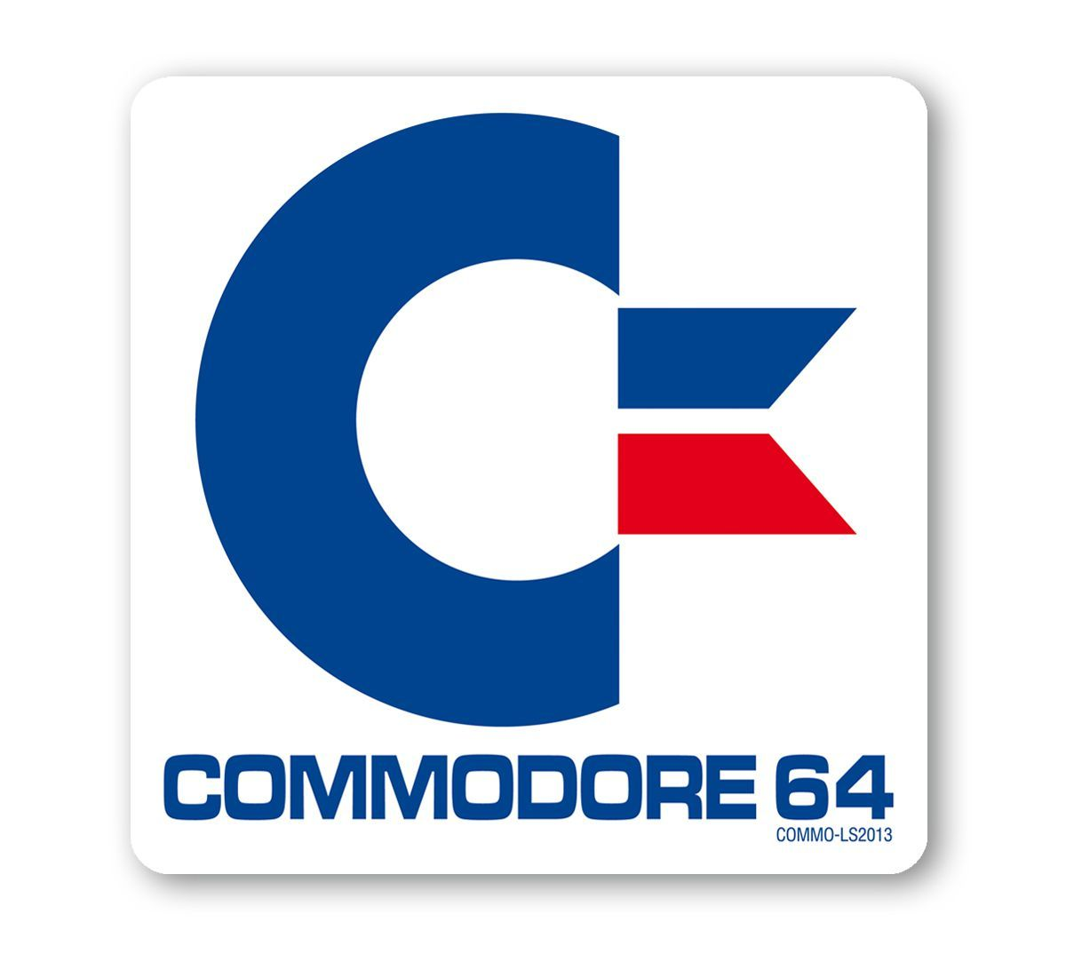 commodore 64 untersetzer logoshirt fond memories