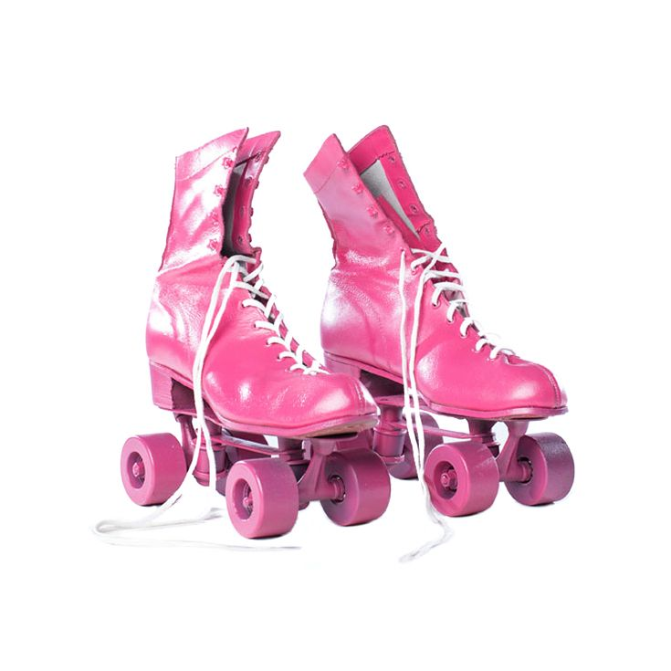These Vintage Roller Skates Are Channeling Their Disco