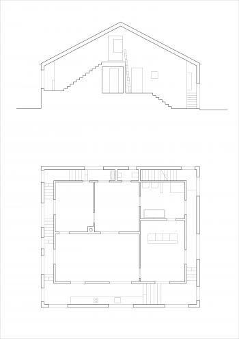 Bau der Woche Transformation du0027une maison individuelle Form