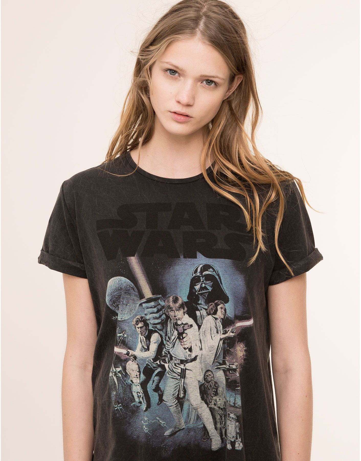Mujer Camiseta Star España Tops amp;bear Camisetas Pull Wars Y gvfIY6b7y