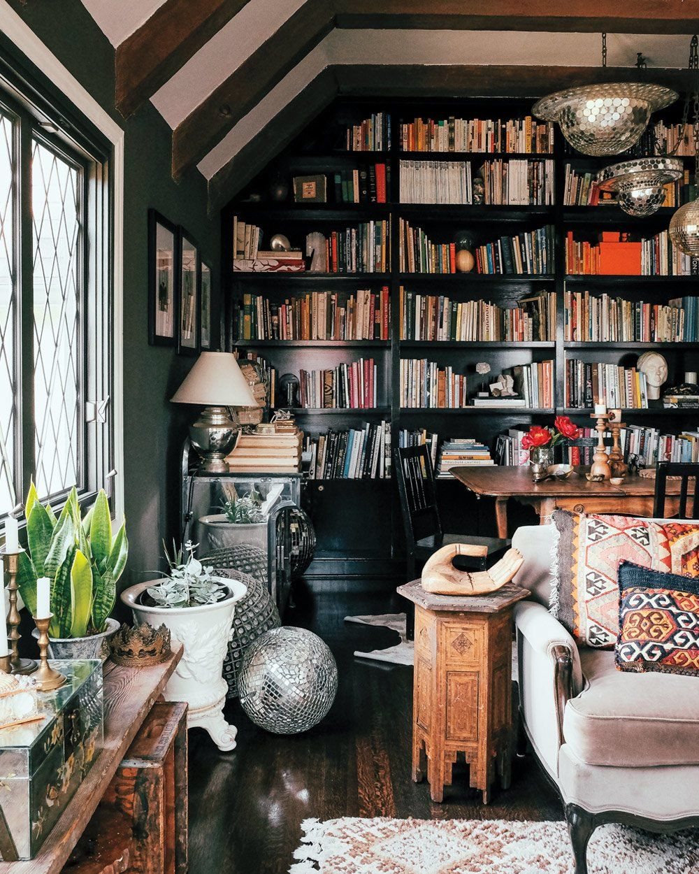Library Room Ideas For Small Spaces: Maximalist Decor, Home