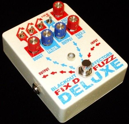 Blackout Effectors Fix'd Fuzz Deluxe