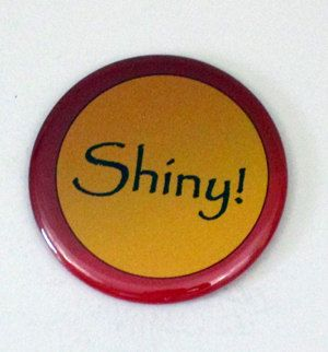 2.25 Button  Shiny by IndianaEdsGeekery on Etsy