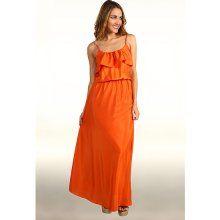 Orange Dress: Bright and Cheery