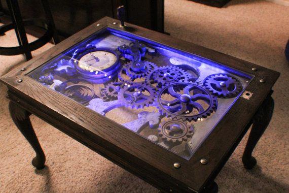 Steampunk Coffee Table By Nicholas Rossi