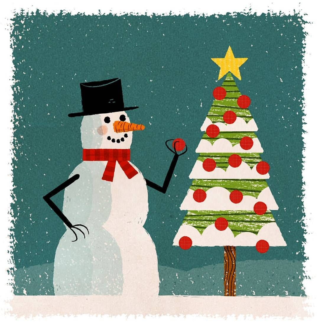 #christmastree #snowman #christmas #illustrator #illustration #draw #drawing #instaart #artofinstagram #photoshop #art #arte #artist #artwork #artdaily #graphicart #graphic #graphicsart #pictureoftheday #potd #vintage #retroillustration #retro #digitalart #digitalillustration #digitalartist #vectorart #digitaldrawing