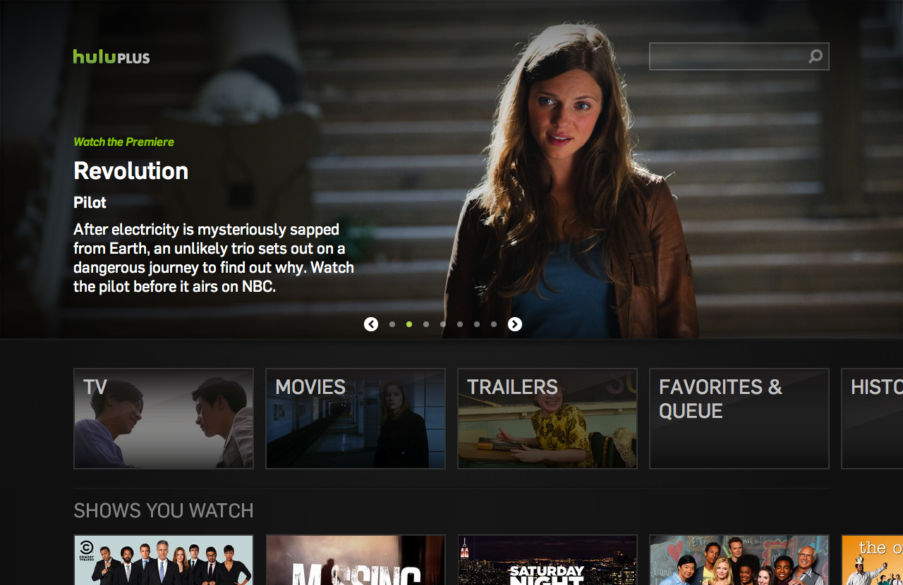 Image result for Hulu Plus on PS3