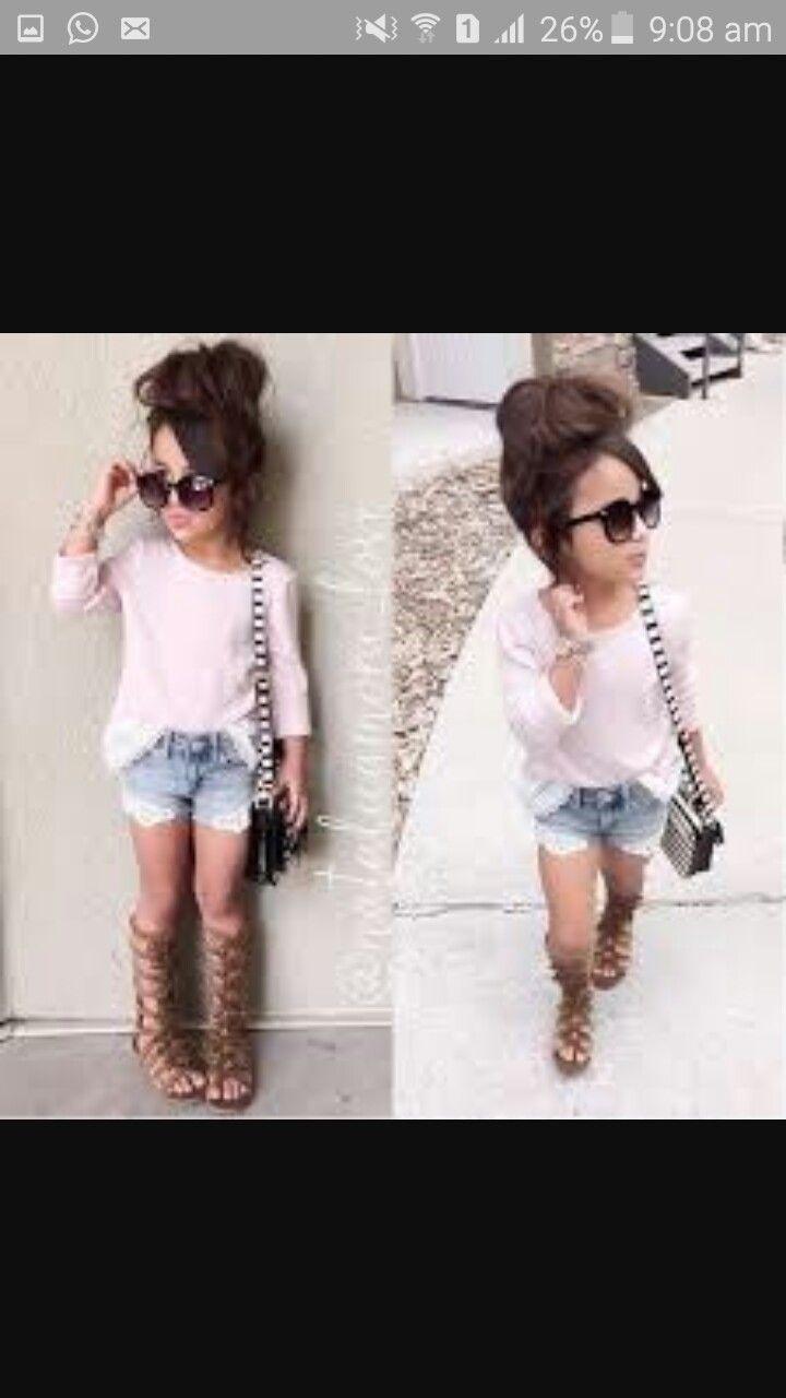 2a294f1fe Boys Fashion Wear, Little Girl Fashion, Toddler Girls Fashion, Stylish Toddler  Girl,