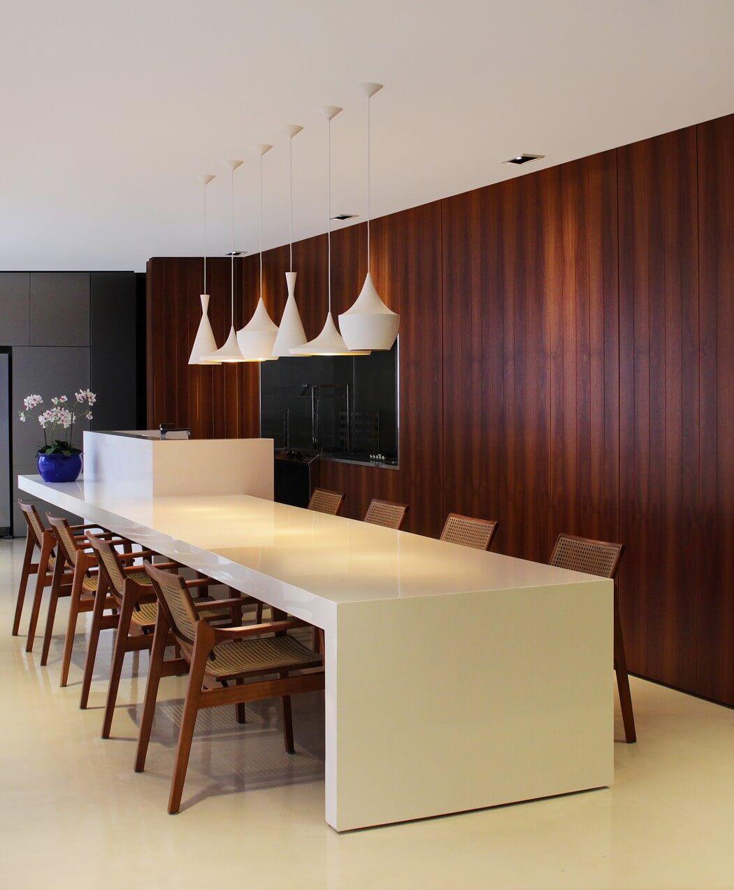 Sjz house by ziz arquitetura comedores interiores y for Comedores para el hogar