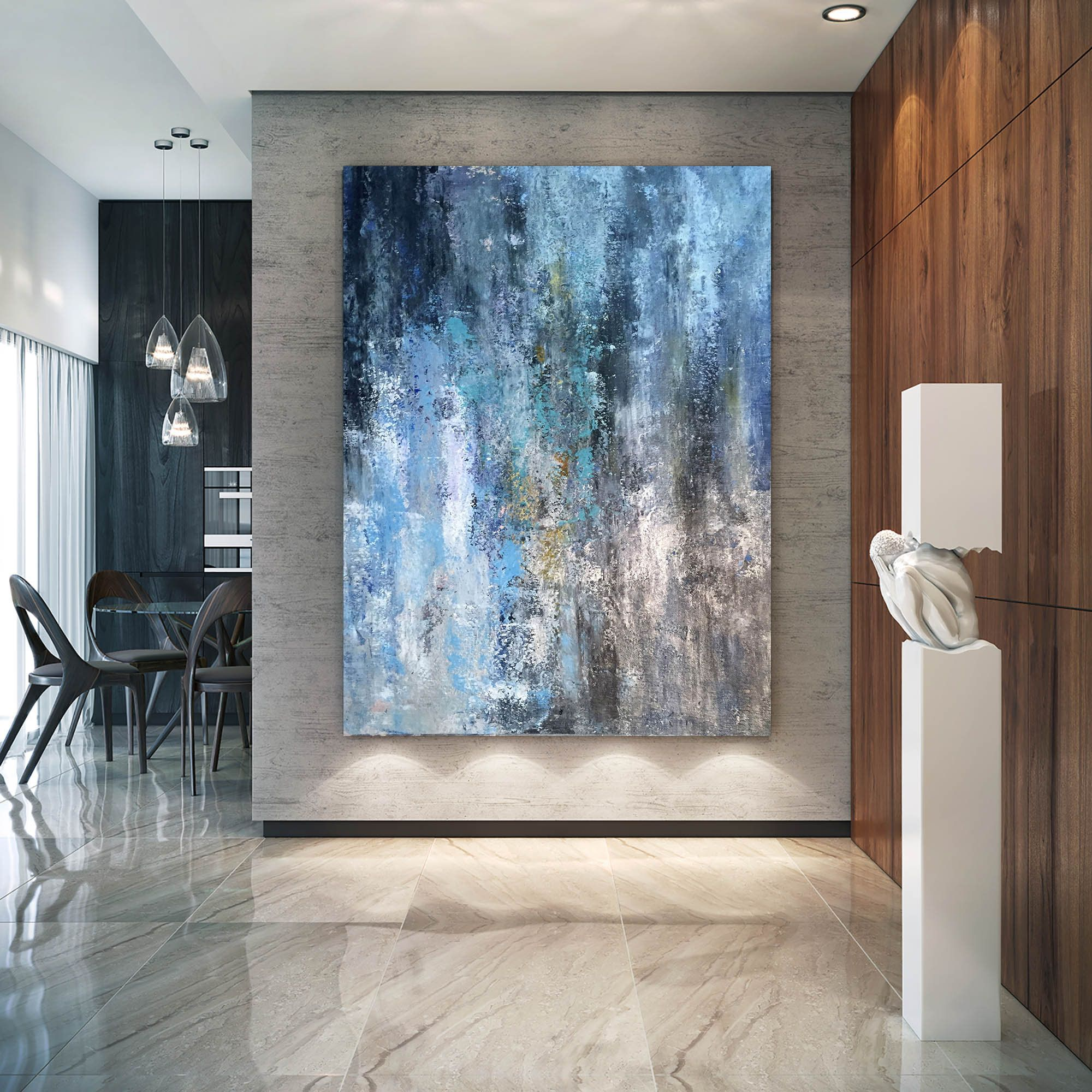 Large Modern Wall Art Paintinglarge Abstract Painting On Etsy In 2020 Large Modern Wall Art Extra Large Wall Art Large Wall Art