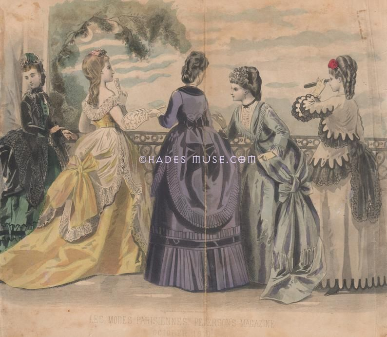Southern Belles-Romantic October Dresses-Fashion-Victorian ...