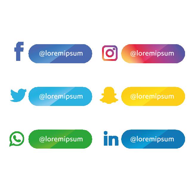 مجموعة أيقونات وسائل التواصل الاجتماعي الرموز الاجتماعية الأيقونات وسائل الإعلام أيقونات وسائل التواصل الاجتماعي Png والمتجهات للتحميل مجانا Gambar Bergerak Gambar Gerak