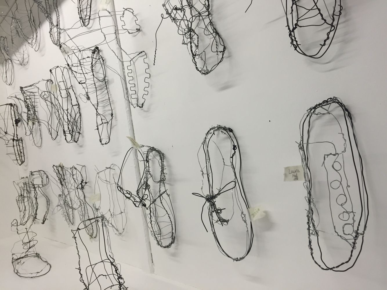 Wire Shoes Art - Wiring Info •
