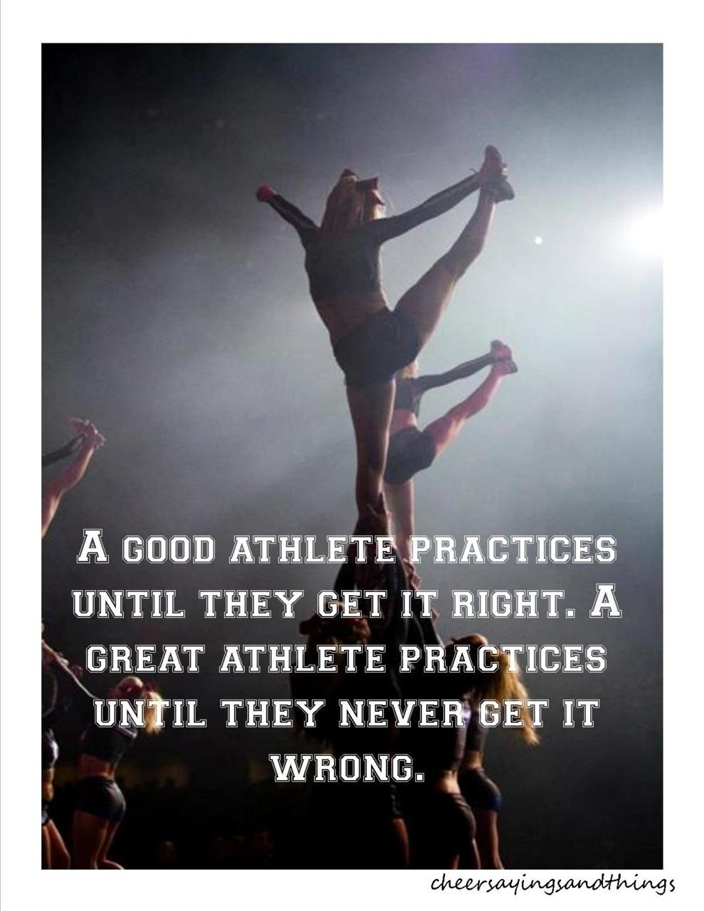 Cheerleading Quotes Tumblr Cheer Sayings & Things