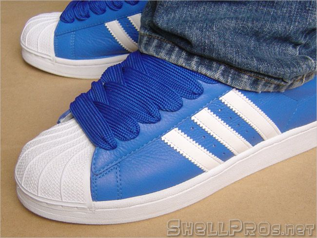 adidas superstar blue white