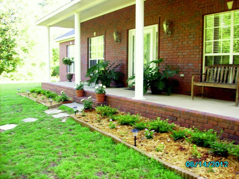 Good Simple Landscaping Ideas For Front Yard Part - 4: Simple Landscaping Ideas For Front Of House - Landscaping .