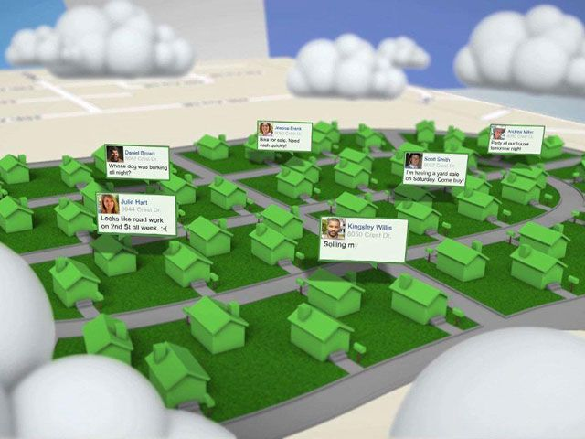 Won't You Be in My Nextdoor Network? Halloween apps