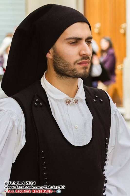 Italia Maschile Sardo I Cerdeña Costume 2019 Love Sardinia Nel z8qnwf