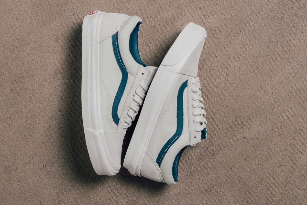 33b1d152db09a1 Vans Vault  Suede Canvas  Old Skool Collection - EU Kicks  Sneaker Magazine
