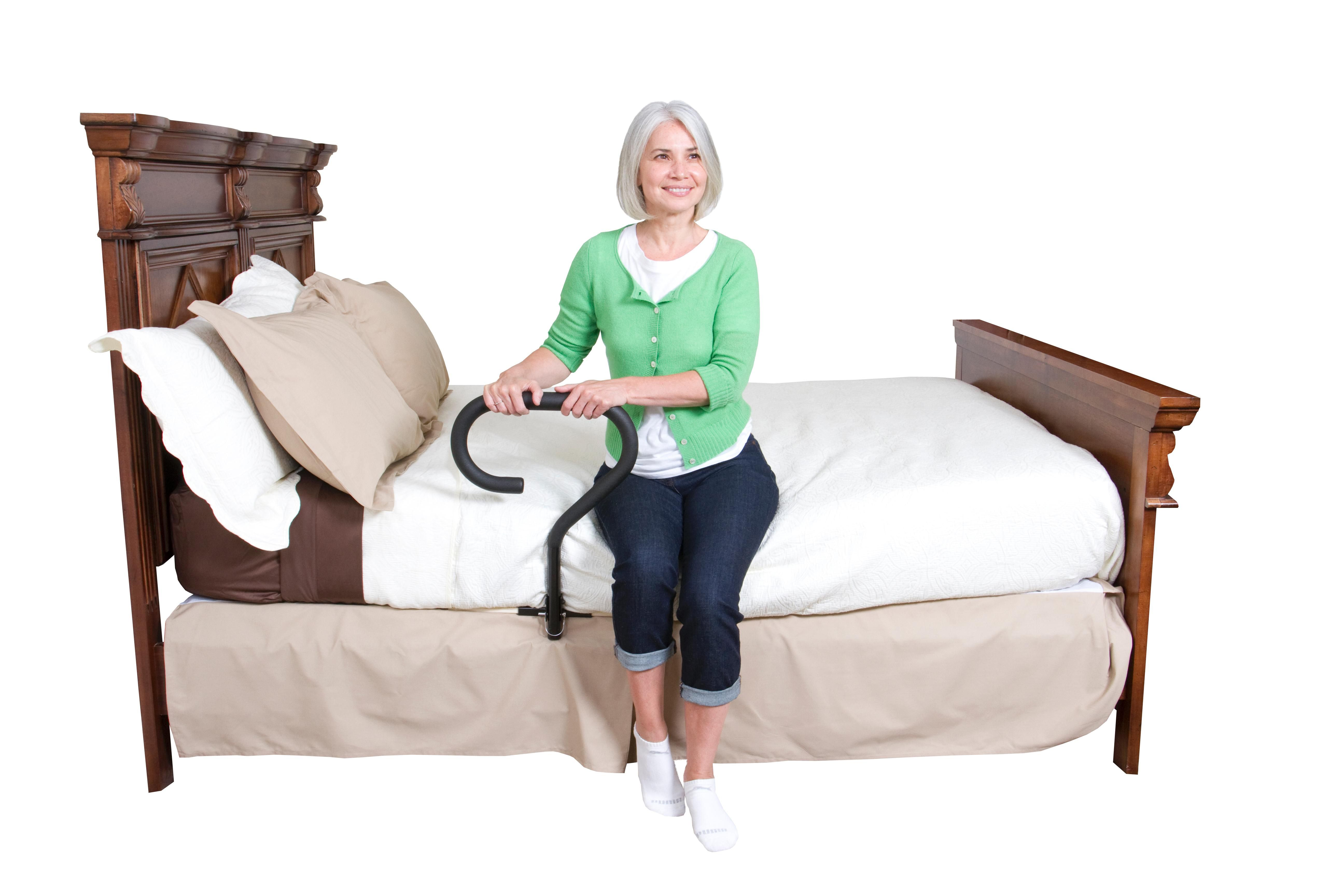 stander padded home rails down rail handle com walmart swing ip for and bed elderly adult pouch assist safety