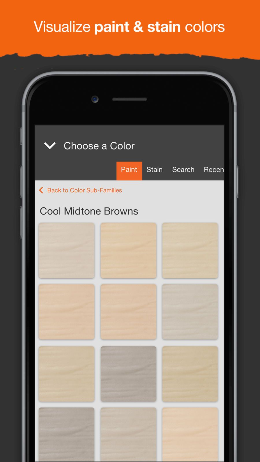 Project Color The Home Depot Utilities Lifestyle Apps Ios Home
