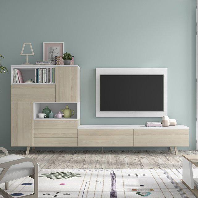 Meuble Tv Design Mural Smelda Atylia Meuble Tv Design Meuble Tv Mobilier De Salon