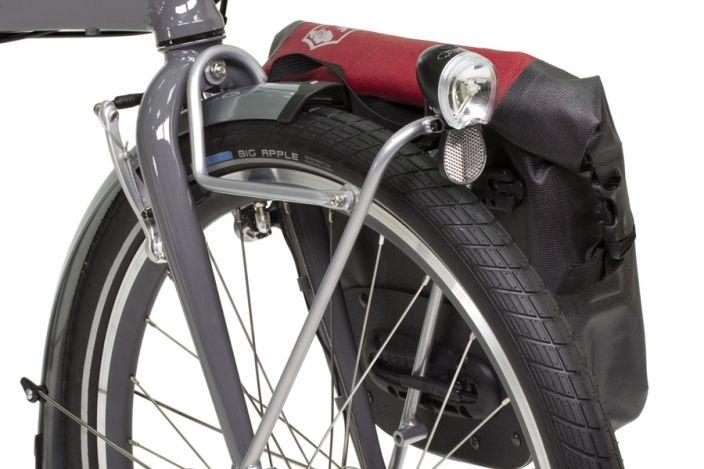 Tern Front Pannier Rack Folding Bike Touring Pinterest
