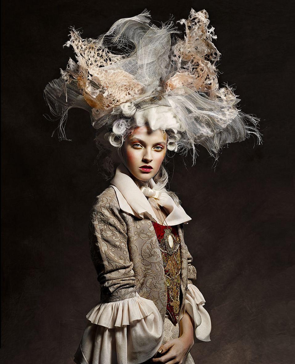Photos Vincent Alvarez Mode Baroque Coiffe Coiffures Historiques