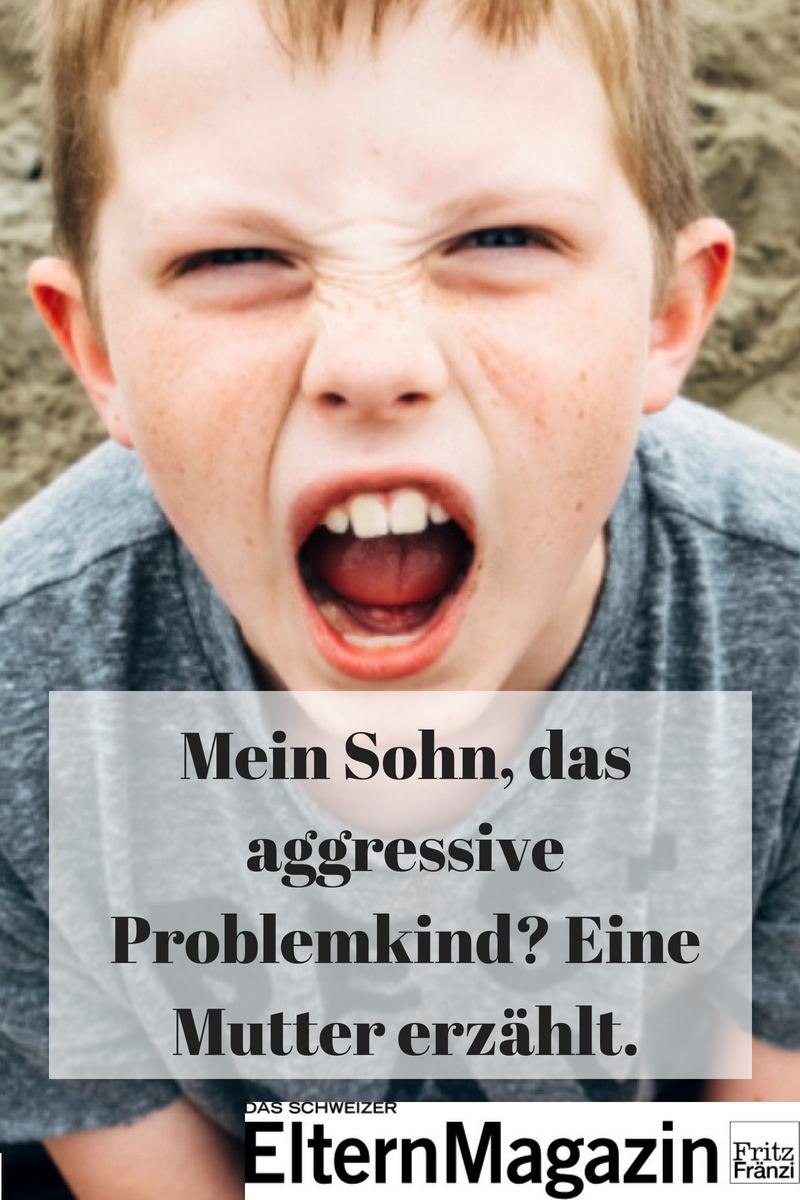 Mein Sohn, das aggressive Problemkind?   Erziehung, Kinder