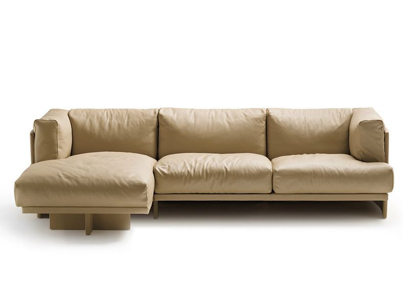 POLO Corner sofa by Poltrona Frau design Piero Lissoni