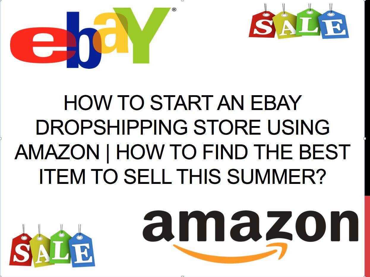 Make Money Today Ebay Dropship Selling On Amazon – SABBWWA