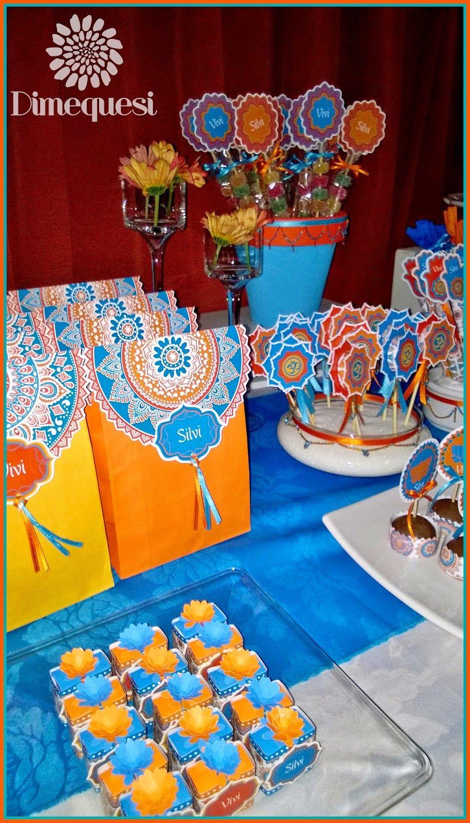 Mandalas party adultos decoracion con mandalas - Fiesta cumpleanos adulto ...