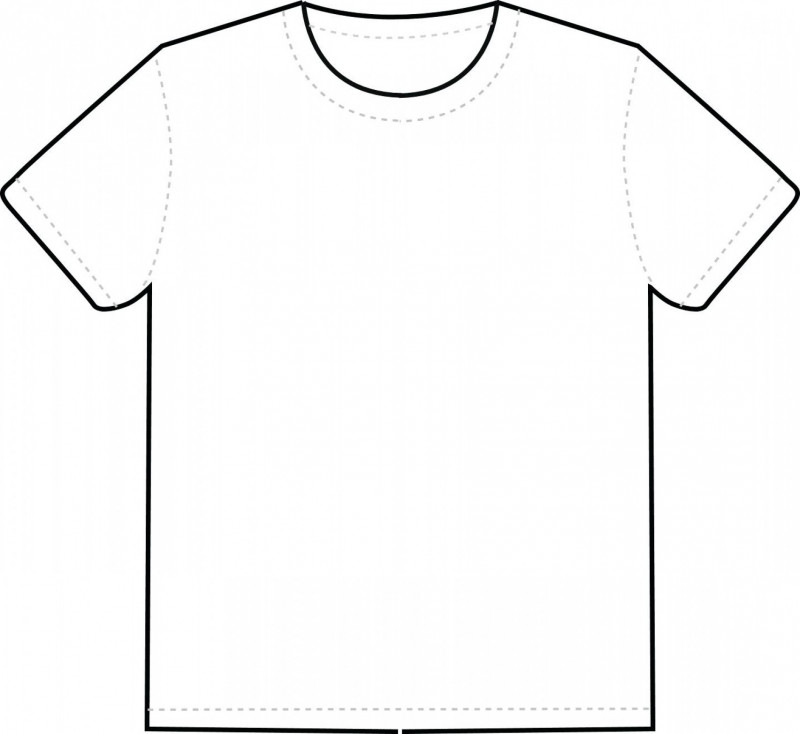 Download Blank Tee Shirt Template Awesome Blank Tee Template T Shirt White By Tshirt Vector Soidergi Shirt Template T Shirt Design Template Shirt Sketch
