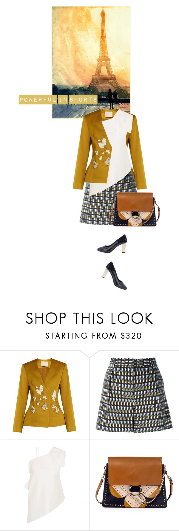 """Summer Power Look"" by noconfessions ❤ liked on Polyvore featuring Brock Collection, Paul Smith, Roland Mouret, Chloé and Lanvin"