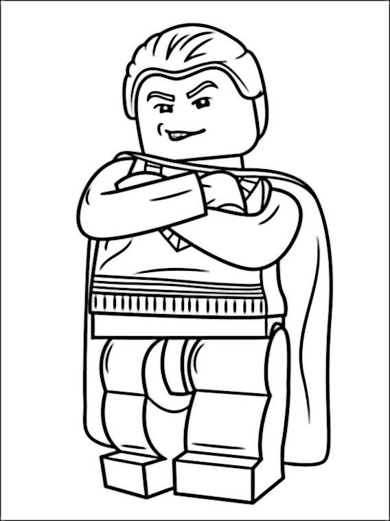 Lego Harry Potter Coloring Pages 1 | coloring is therapeutic ...
