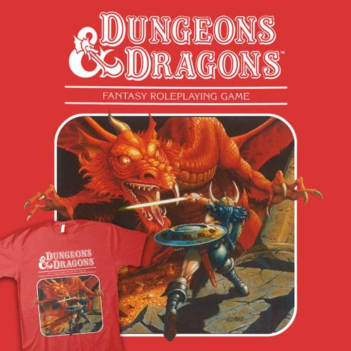 Shirtoid Dungeons And Dragons Art Dnd Art Dungeons And Dragons