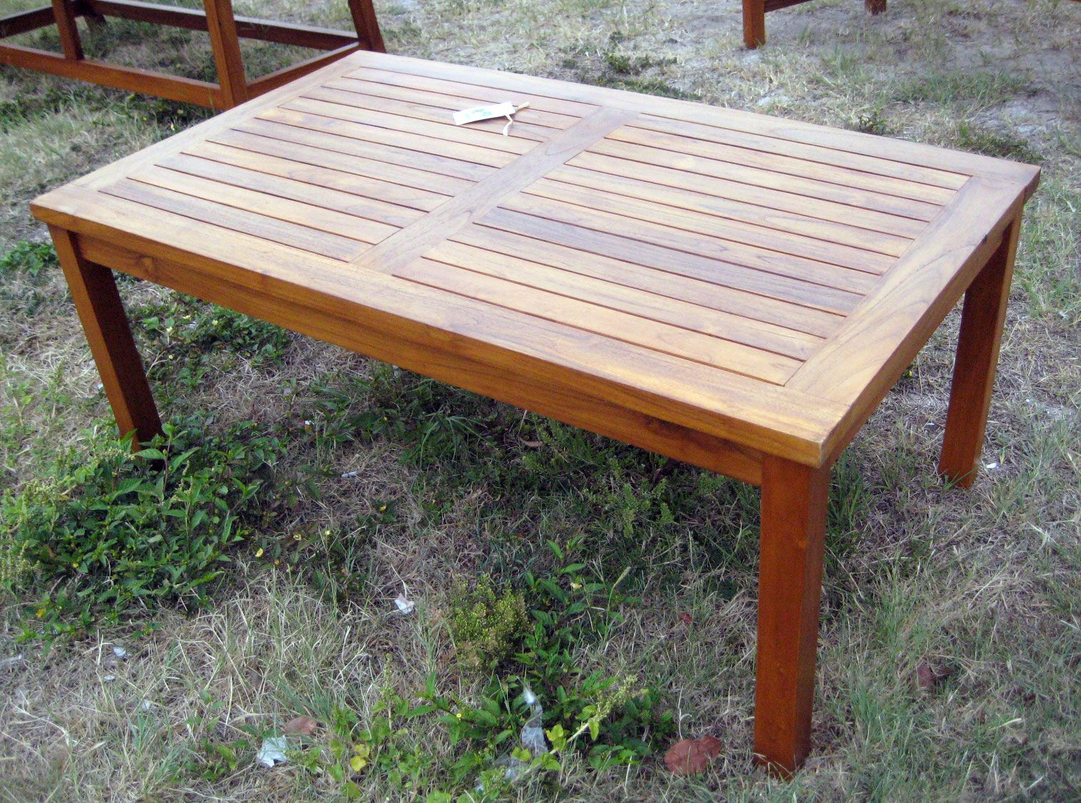 Teak outdoor coffee table building projects pinterest teak outdoor coffee table geotapseo Gallery