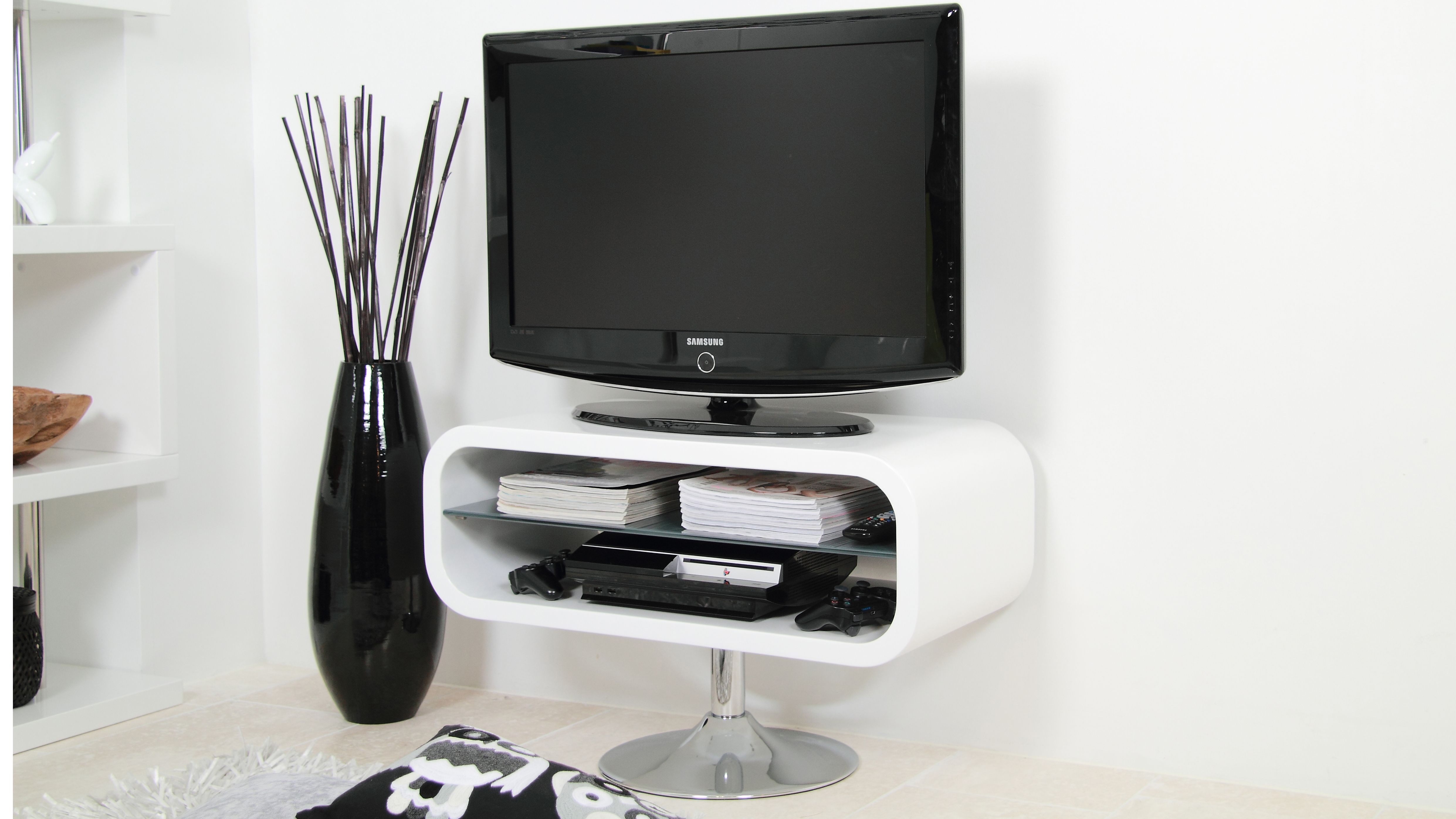 table to ideas on universal for pedestal base home with design height inspirational new wall top of stand swivel inch tvs tv