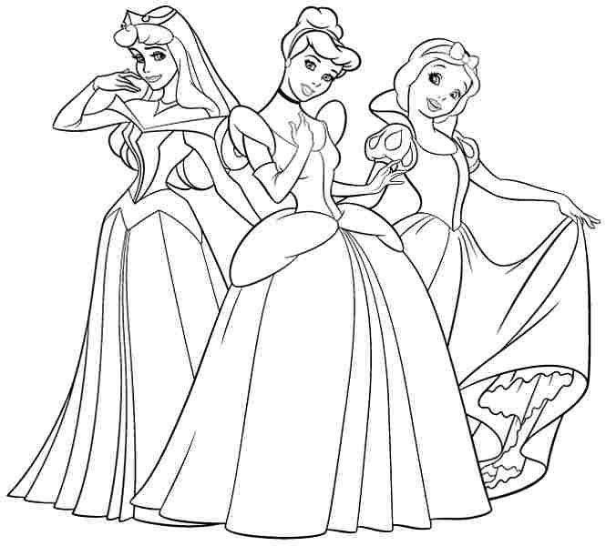 Disney Princess Coloring Pages ingyen nyomtatható az iskolára ...