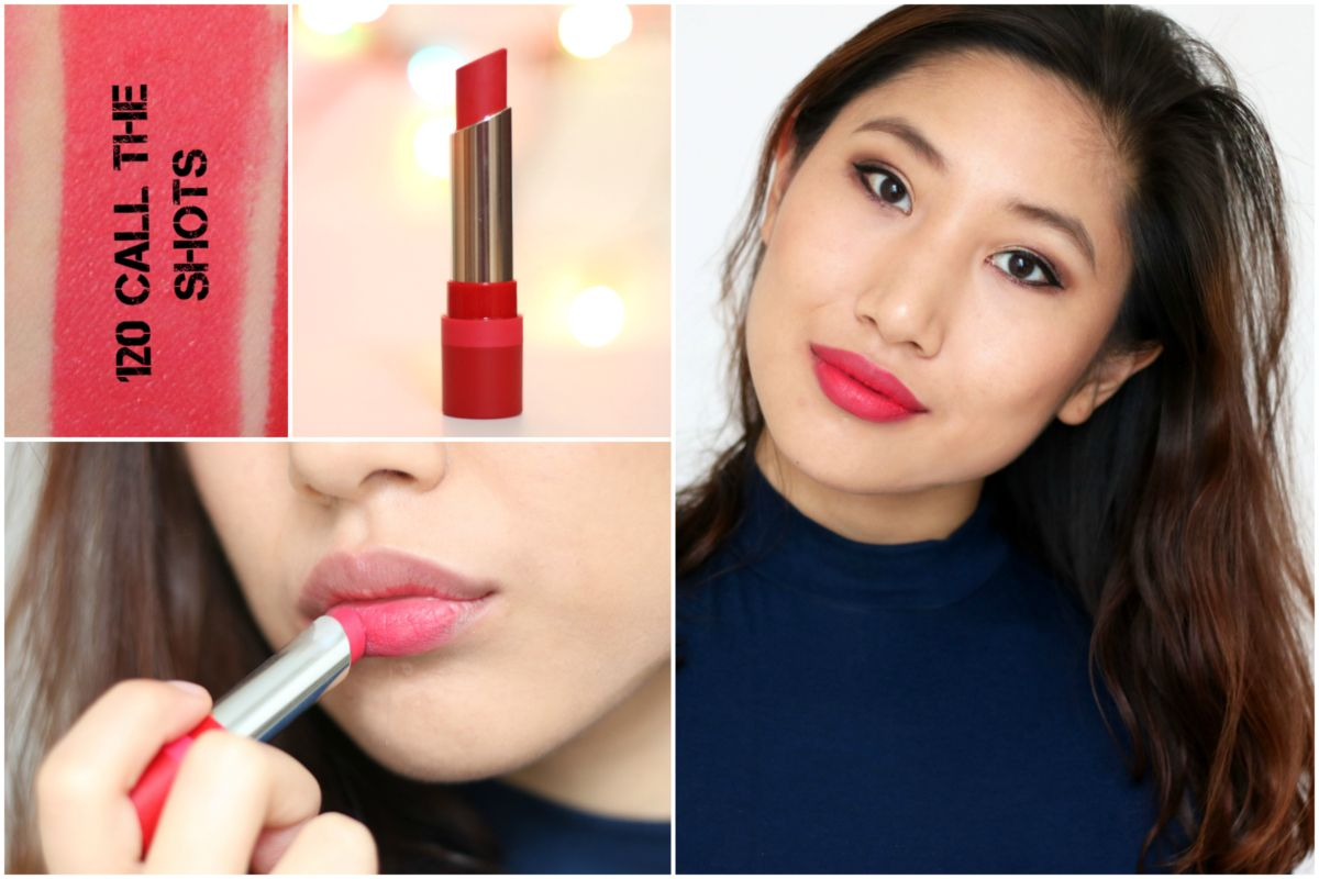 Rimmel London The Only 1 Matte Lipstick In 120 Call Shots Trio