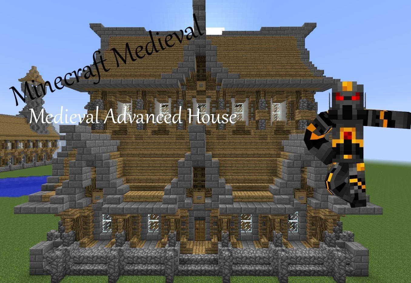 Minecraft Medieval Advanced House