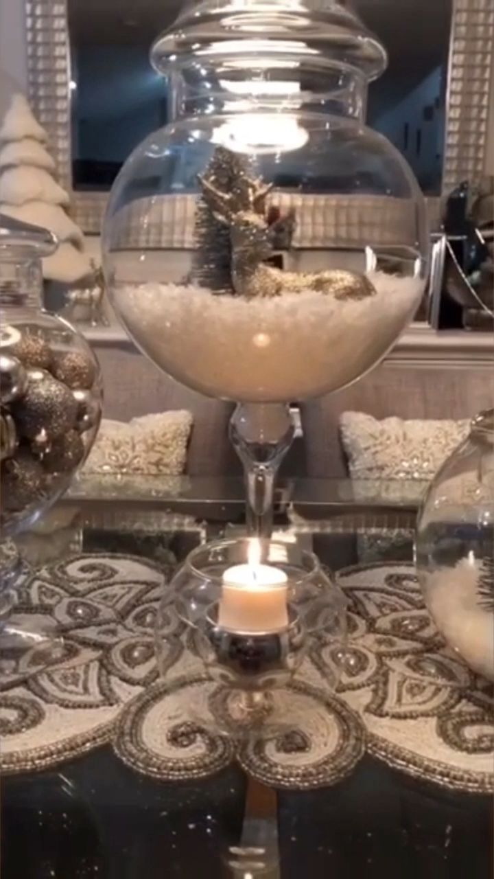 Beautiful Christmas dining table decor|Christmas decoration ideas|