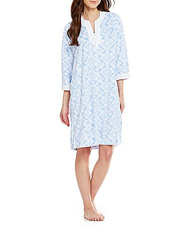 Miss Elaine Micro Terry Short Zip Robe  Dillards  a9fd16092