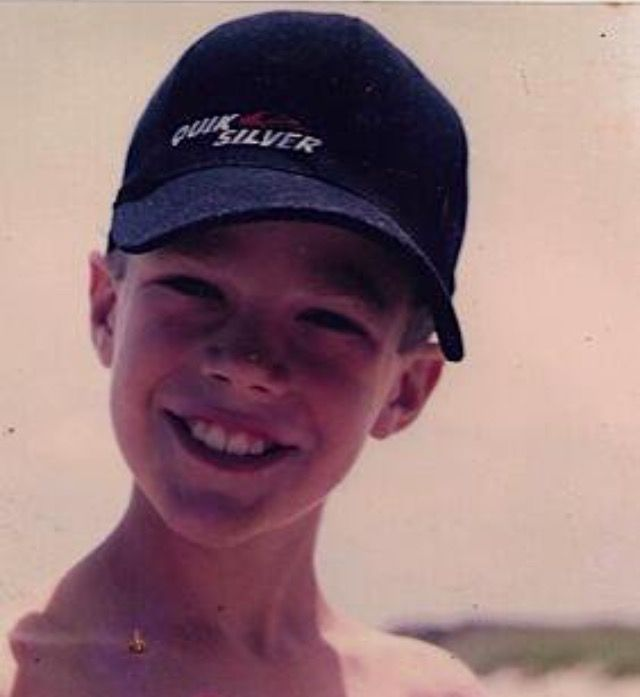 Young Grant Gustin