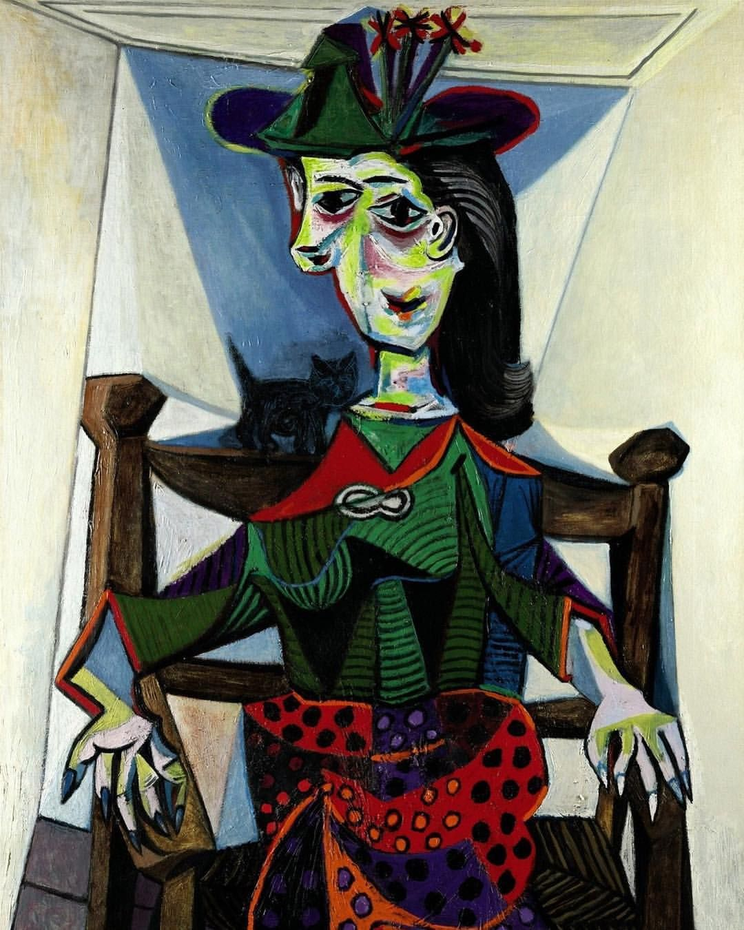 Dora Maar au Chat. Pablo Picasso, 1941. | Picasso artwork, Pablo picasso  artwork, Picasso art