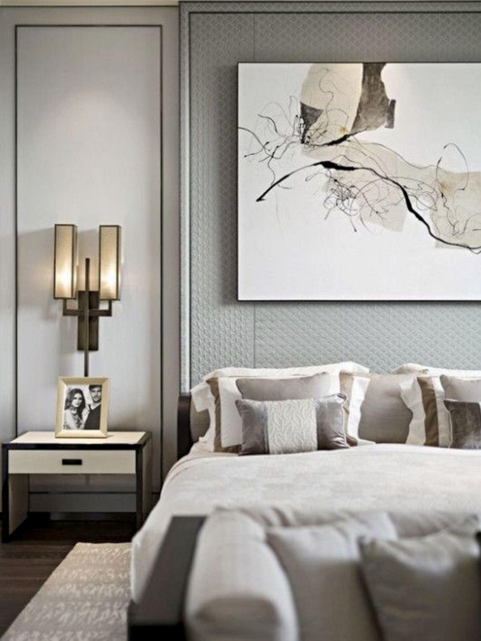 Modern contemporary master bedroom decor  GreyStyle Master Bedroom from Pinterest  Master bedroom Bedrooms