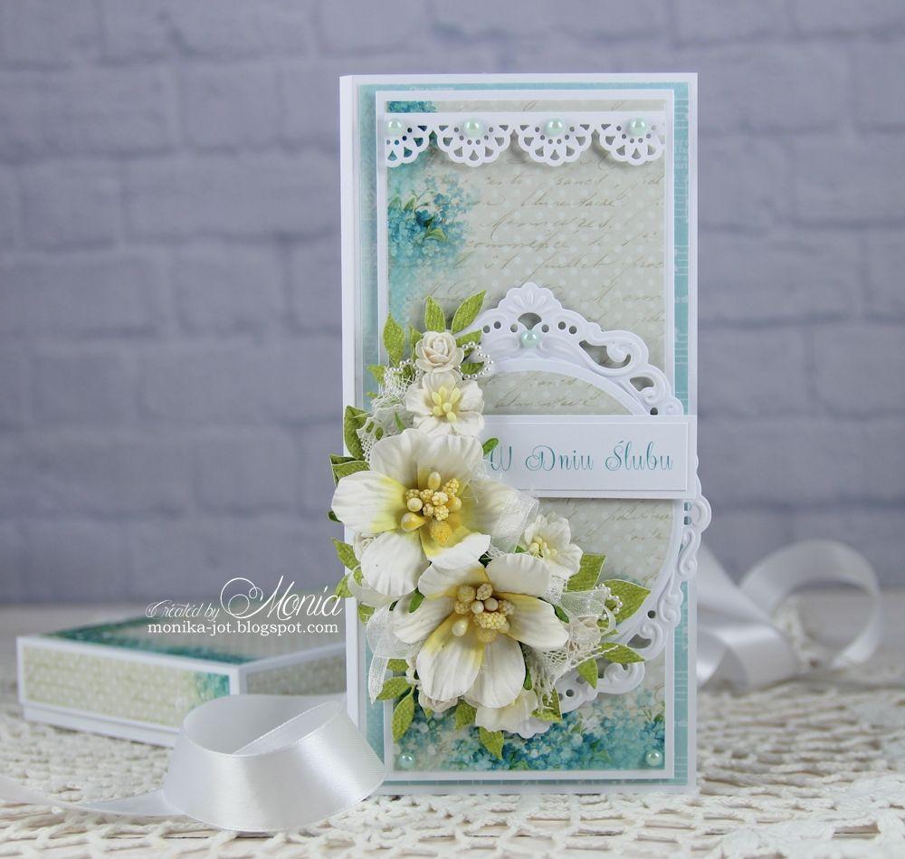 How to scrapbook wedding cards - Wedding Card With Pretty Flori Scrapbook Com