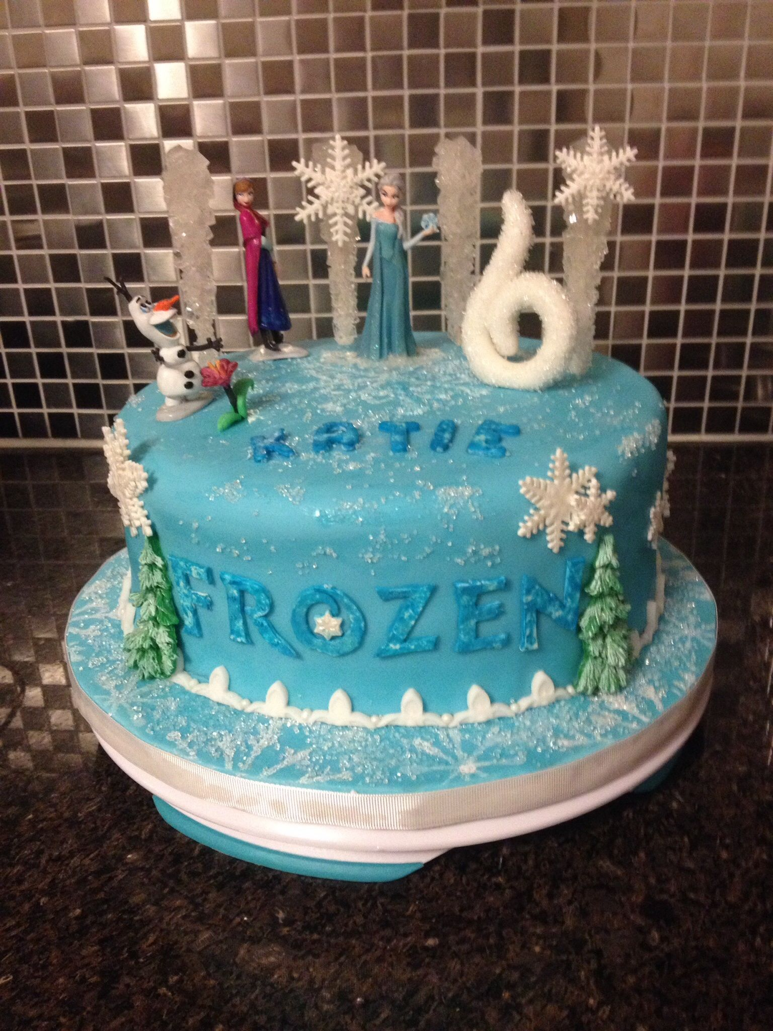 Disney Frozen Birthday cake baking Pinterest Disney frozen